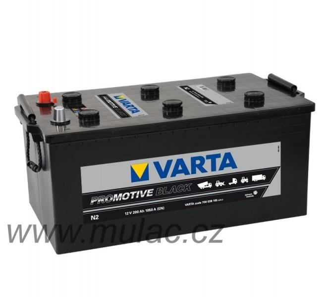 Autobaterie Varta ProMotive BLACK 700038, 12V / 200Ah / 1050A č. 1