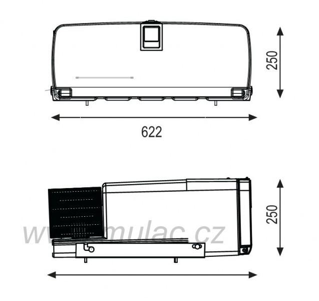 TB34AM kompresorová autochladnička Indel B 12/24V 35litrů č. 4