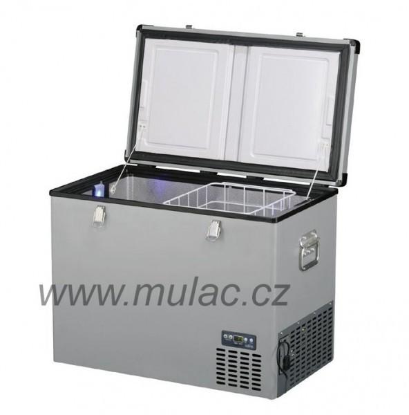 TB100 Steel Indel B kompresorová autochladnička, 100L, 12/24/230V č. 1