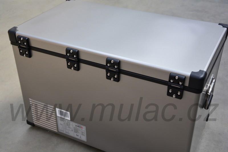 TB74 Steel kompresorová autochladnička, 74L, 12/24/230V č. 4