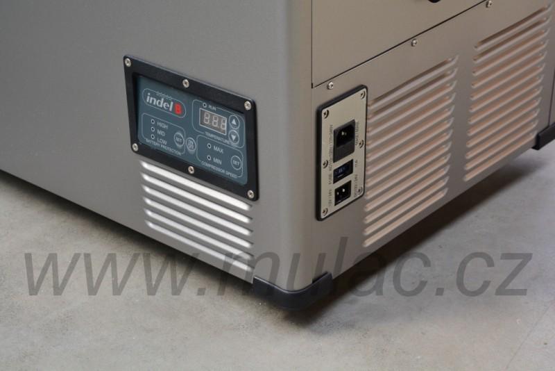 TB74 Steel kompresorová autochladnička, 74L, 12/24/230V č. 7