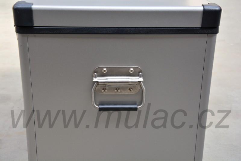 TB74 Steel kompresorová autochladnička, 74L, 12/24/230V č. 8