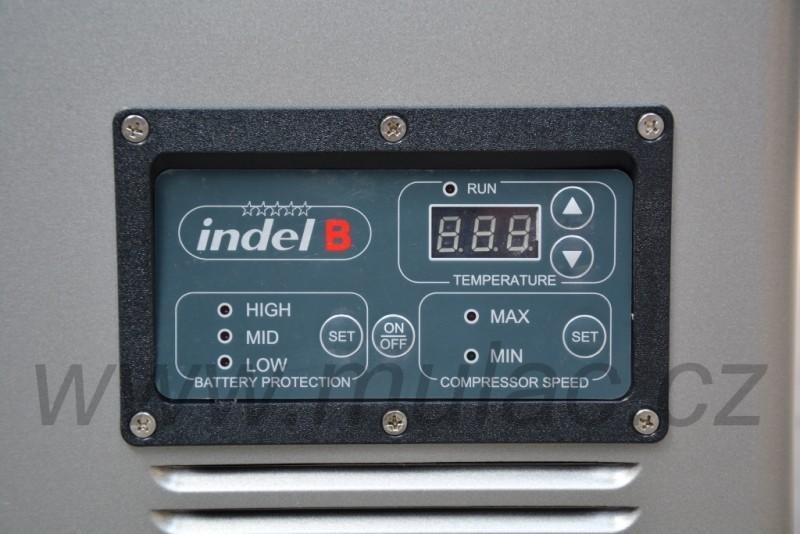 TB74 Steel kompresorová autochladnička, 74L, 12/24/230V č. 10