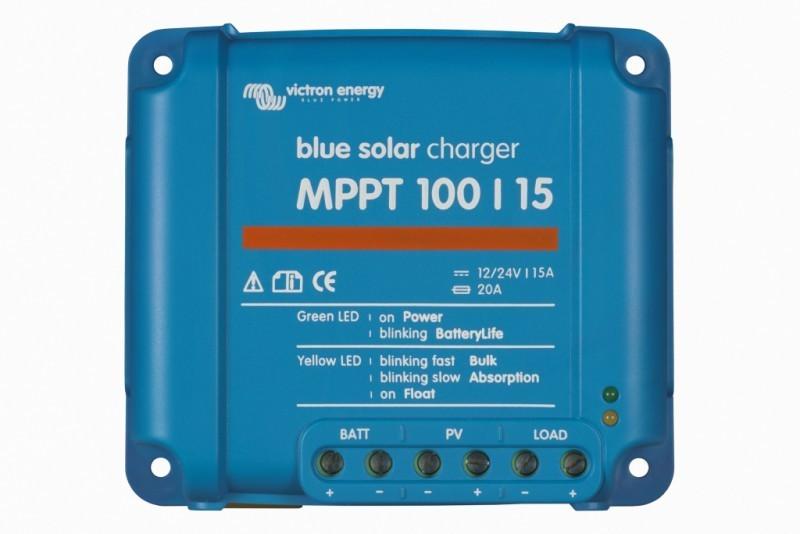 BlueSolar MPPT 100/15, solární regulátor 12/24V 15A 100V č. 1