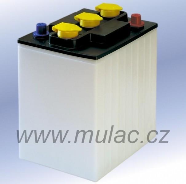 3 PT 210 trakční bloková baterie 6V, C5=205Ah, C20=270Ah. č. 1