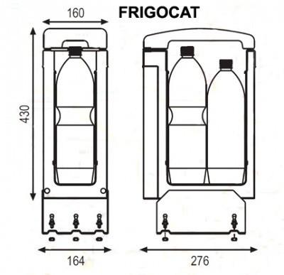 FRIGOCAT Indel B 7L, 24V, dT30°C, autochladnička č. 3