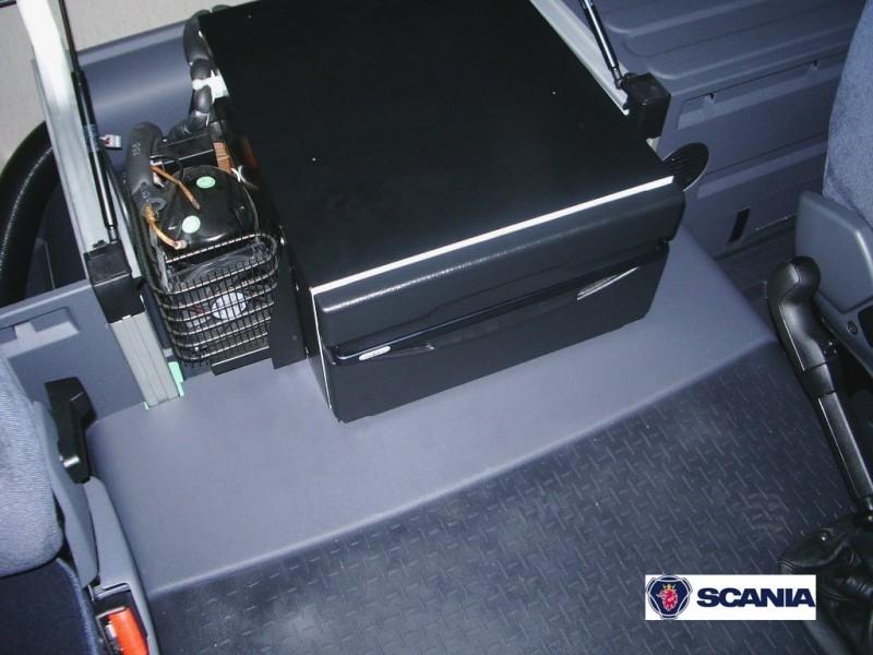 Vestavná kompresorová autochladnička TB36AM Indel B 12/24V, 36litru, termostat č. 6