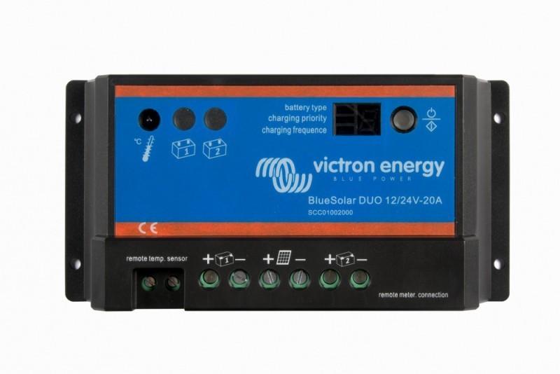 BlueSolar DUO 12/24V-20A solární regulátor nabíjení č. 1
