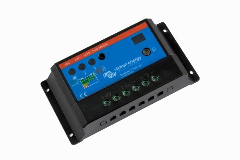 BlueSolar 12/24V-10A solární regulátor nabíjení č. 1