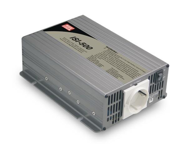 Měnič napětí ISI-500-212, 12V na 230V 350W + MPPT regulátor č. 1