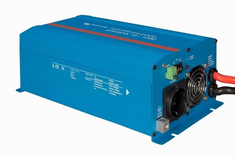 Phoenix 24/1200, měnič napětí 24V na 230V 1200VA sínus č. 1