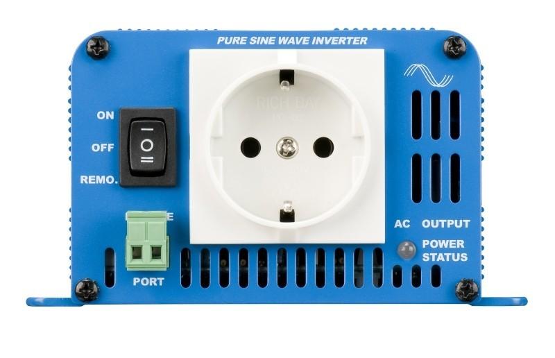 Phoenix 24/180, měnič napětí 24V na 230V 180VA sínus  č. 1