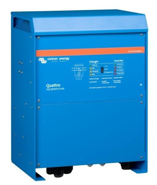 Quattro 12/5000/220-100/100. Měnič napětí / nabíječ / UPS. 12V 220A 5000W č. 1