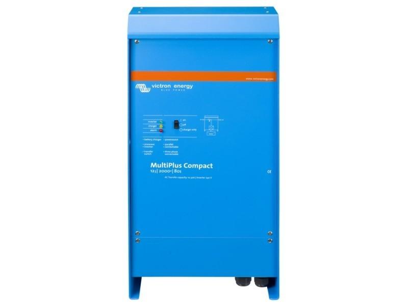 MultiPlus C 12/2000/80-30, měnič napětí / nabíječ / UPS. 12V 80A 2000VA č. 1