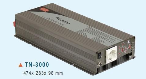 TN-3000-224B Měnič napětí DC/AC 24V na 230V 3000W sínus pro solární apliakace  s funkcí UPS č. 1