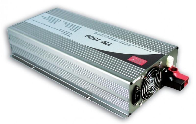 TN-1500-224B Měnič napětí DC/AC 24V na 230V 1500W sínus pro solární aplikace s funkcí UPS č. 2