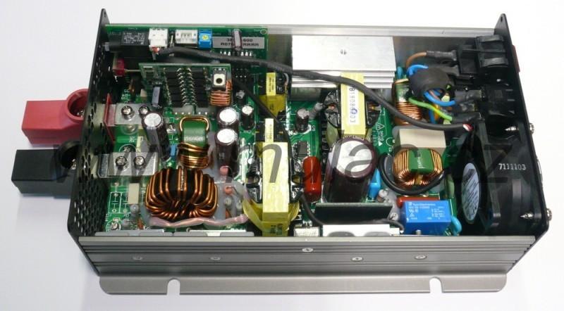 Nabíječ 48V 10,5A MeanWell PB-600-48 č. 4