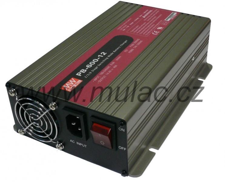 Nabíječ 24V 21A MeanWell PB-600-24 č. 2