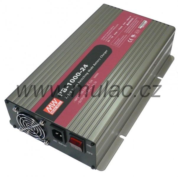 Nabíječ 12V 60A MeanWell PB-1000-12 č. 2
