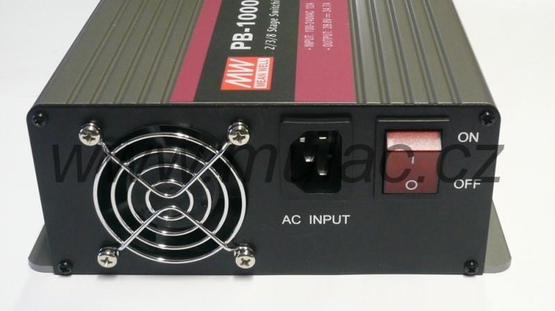 Nabíječ 12V 60A MeanWell PB-1000-12 č. 4
