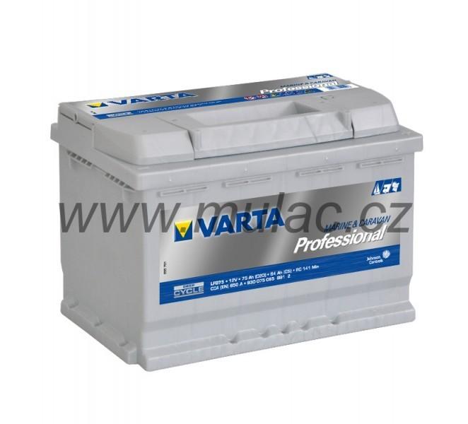 930075 Varta Professional 12V 75Ah č. 1