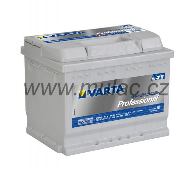 930060 Varta Professional 12V 60Ah č. 1