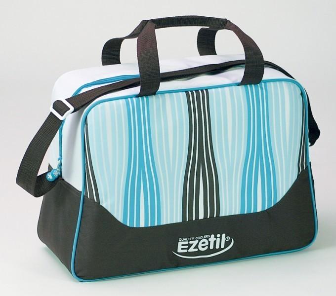 Chladící taška Ezetil KC Fashion 20 litrů, modrohnědá č. 1