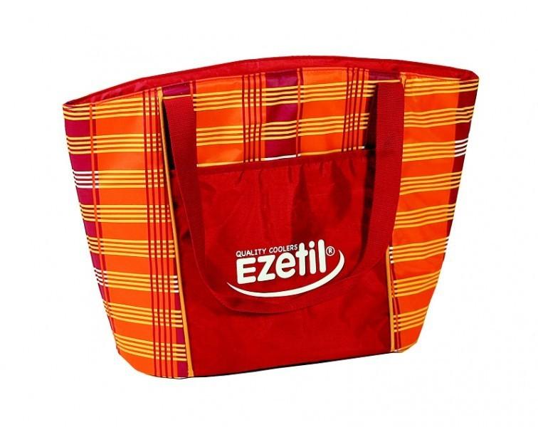 Chladící taška Ezetil KC Lifestyle 25 litrů, vínová/oranžová č. 1