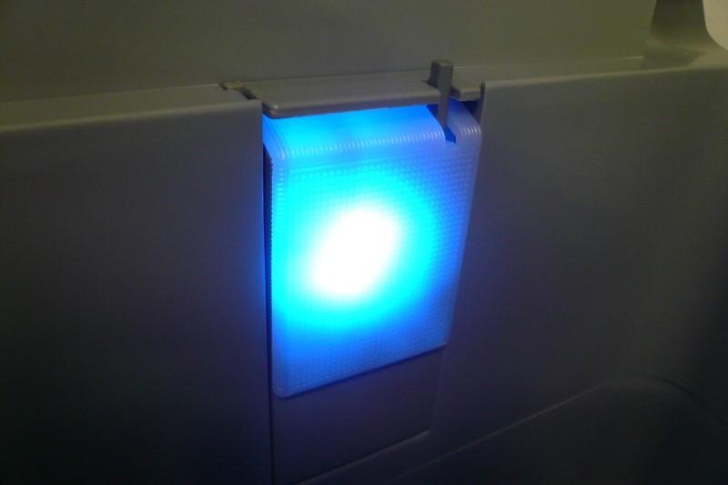 Autochladnička Indel B TB41 osvětlení