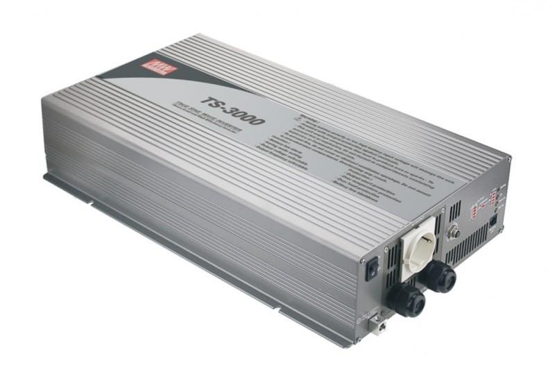 TS-3000-224B Měnič napětí sínusový 24V na 230V 3000W, DC/AC měnič napětí TS-3000-224B č. 1