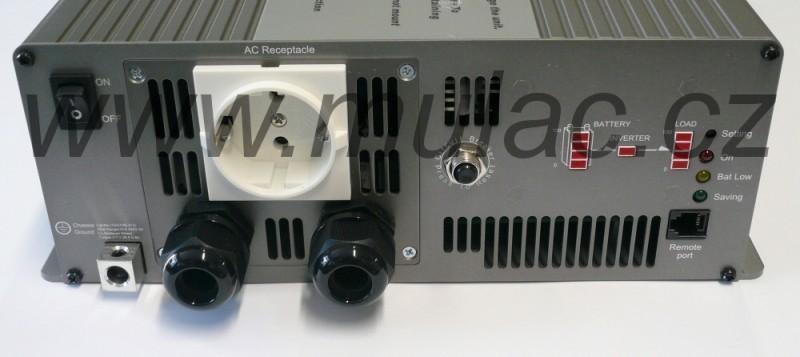TS-3000-224B Měnič napětí sínusový 24V na 230V 3000W, DC/AC měnič napětí TS-3000-224B č. 2
