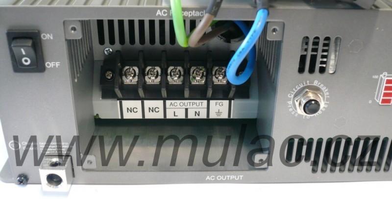 TS-3000-224B Měnič napětí sínusový 24V na 230V 3000W, DC/AC měnič napětí TS-3000-224B č. 3