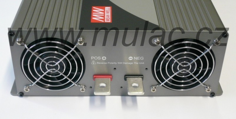 TS-3000-224B Měnič napětí sínusový 24V na 230V 3000W, DC/AC měnič napětí TS-3000-224B č. 4