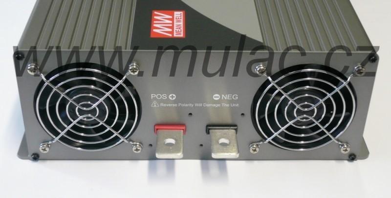 TS-3000-212B měnič napětí sínusový 12V na 230V 3000W, DC/AC měnič napětíí č. 4