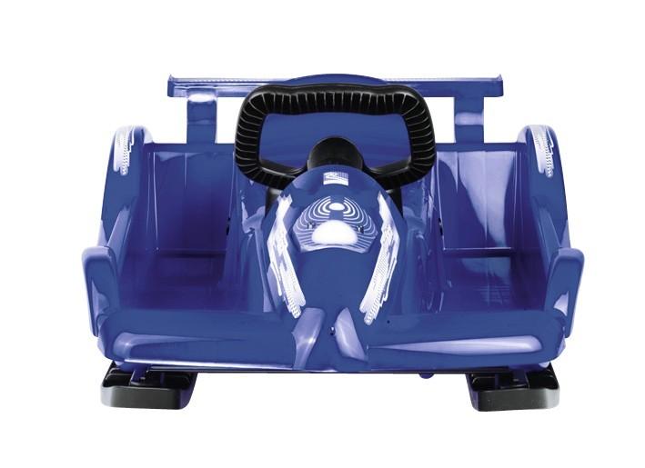 Řiditelné dětské boby AlpenRace modré s volantem č. 2