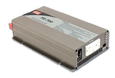 TS-700-224B měnič napětí sínusový 24V na 230V 700W, DC/AC měnič napětí  č. 1