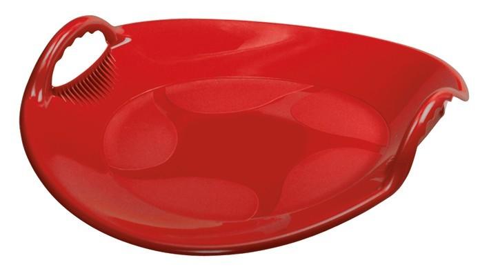 Robustní talíř AlpenUFO červený č. 1
