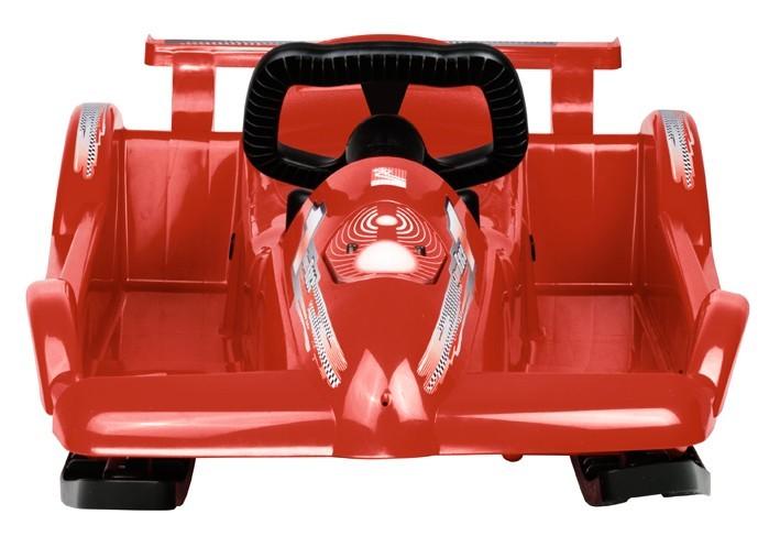 Řiditelné dětské boby AlpenRace červené s volantem č. 2
