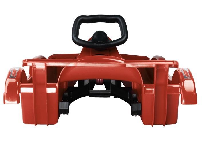 Řiditelné dětské boby AlpenRace červené s volantem č. 3