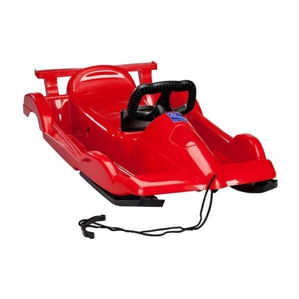 Řiditelné dětské boby AlpenRace červené s volantem č. 4
