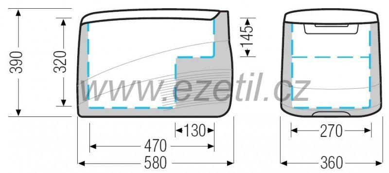 Autochladnička EZC35 12/24V 35L kompresorová č. 3