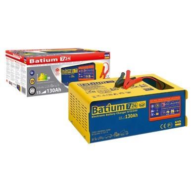 Batium 7/24 - nabíječka autobaterií 6 - 12 - 24V 11A č. 1