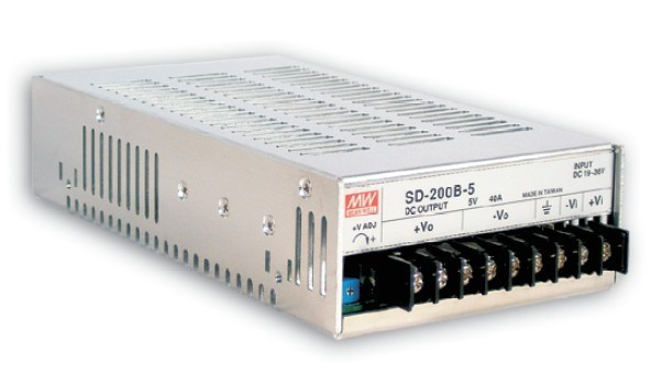 Měnič napětí DC/DC 36-72V DC na 24V 200W 8,4A (SD-200C-24) č. 1