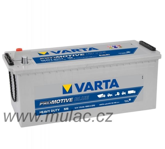 Autobaterie 640103 VARTA ProMotive BLUE 12V/140Ah/800A č. 1