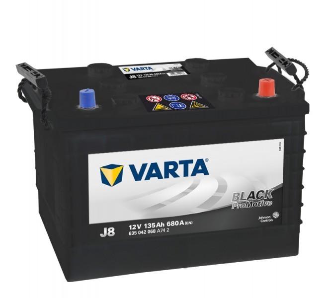 Autobaterie Varta ProMotive BLACK 635042, 12V / 135Ah / 680A č. 1