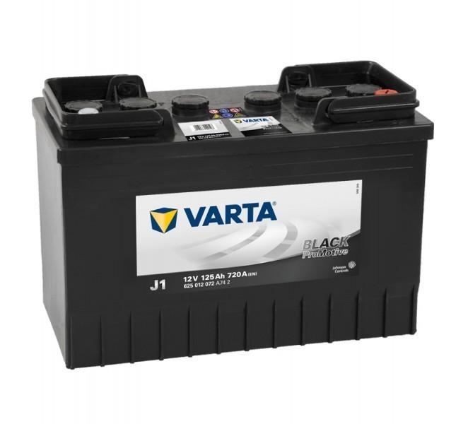 Autobaterie Varta ProMotive BLACK 625012, 12V / 125Ah / 720A č. 1