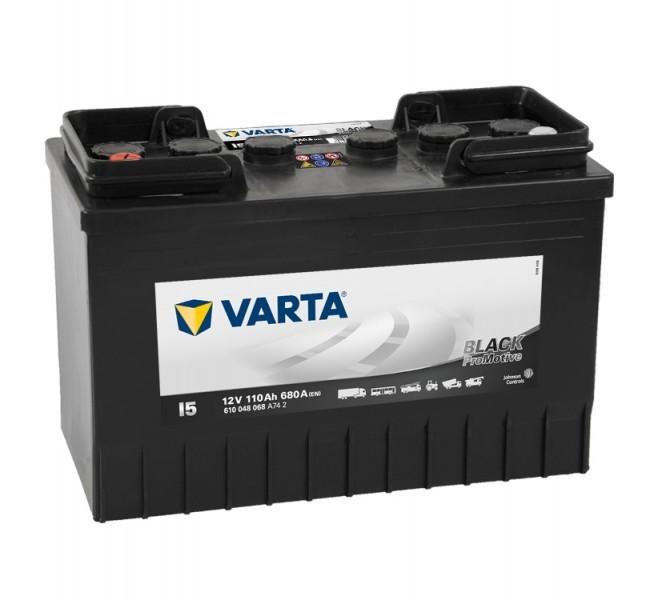 Autobaterie Varta ProMotive BLACK 610048, 12V / 110Ah / 680A č. 1