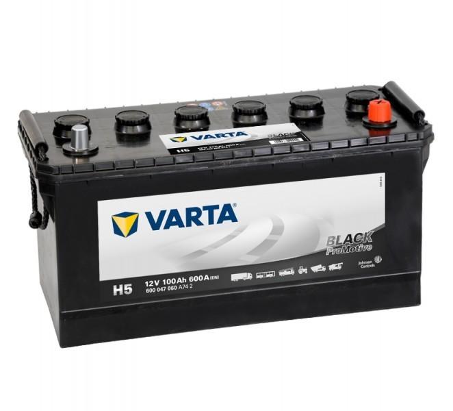 Autobaterie Varta ProMotive BLACK 600047, 12V / 100Ah / 600A č. 1