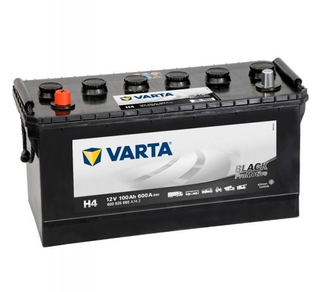 Autobaterie Varta ProMotive BLACK 600035, 12V / 100Ah / 600A č. 1