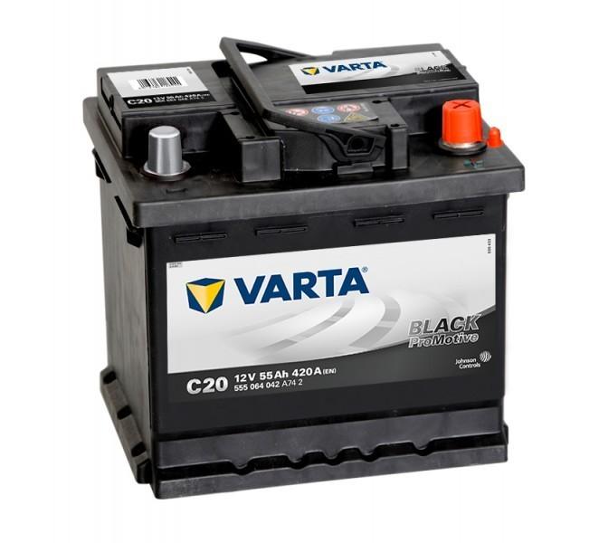 Autobaterie Varta ProMotive BLACK 555064, 12V / 55Ah / 420A č. 1